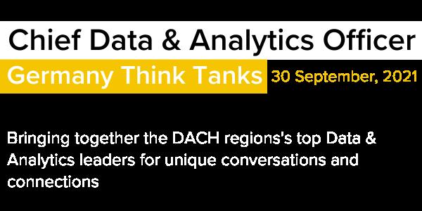 Chief Data & Analytics Officer Germany Think Tanks Corinium 2021